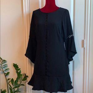 White House Black Market Black Shift Dress